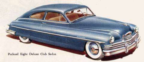1950 Deluxe Eight Club Sedan