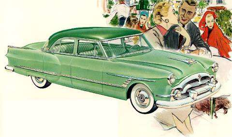 1953 Packard Cavalier Touring Sedan
