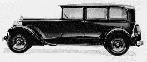1930 Standard Eight Sedan