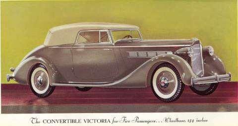 1935 Eight Convertible Victoria