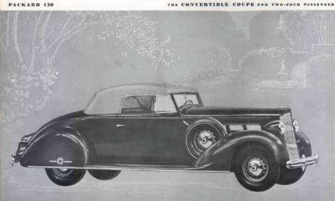 1937 One Twenty Convertible Coupe