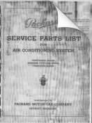 1941 Packard A/C Parts List