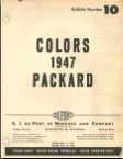1947 Packard DuPont Paint Chips