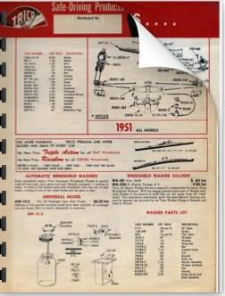 1935-1951  Packard Trico Parts Catalog