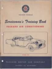1953-1954 Packard Air Conditioning Serviceman's Training Manual