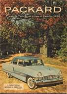 1955 Two Great Lines - Packard Magazine/Brochure