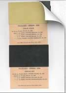 1930 Packard Paint Chips