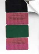 1929 Packard Paint Chips