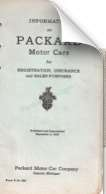 Record of Packard Motor Cars (1930 printing)
