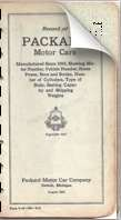 Record of Packard Motor Cars (1927 printing)