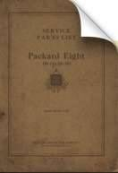 1923-1925 Packard Eight Parts List