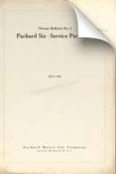 1925 Packard Six Service Part List Change Bulletin #2