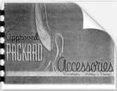 1939 Packard Accessory Brochure