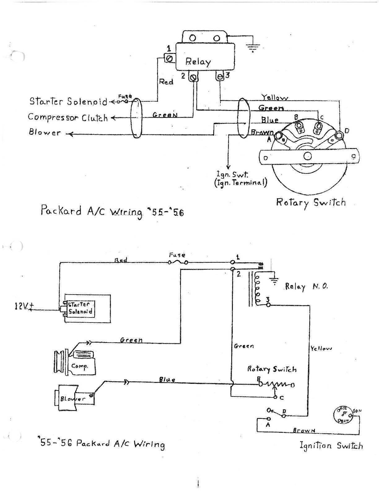 Packard Motor Car Information - Wiring Diagrams  C