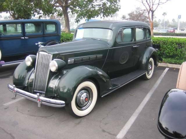 1936 120B Touring Sedan Body 893