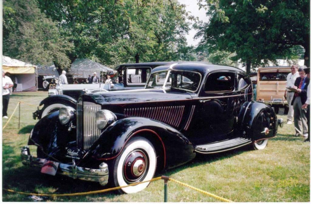 1934 12 LeBaron Sport Coupe