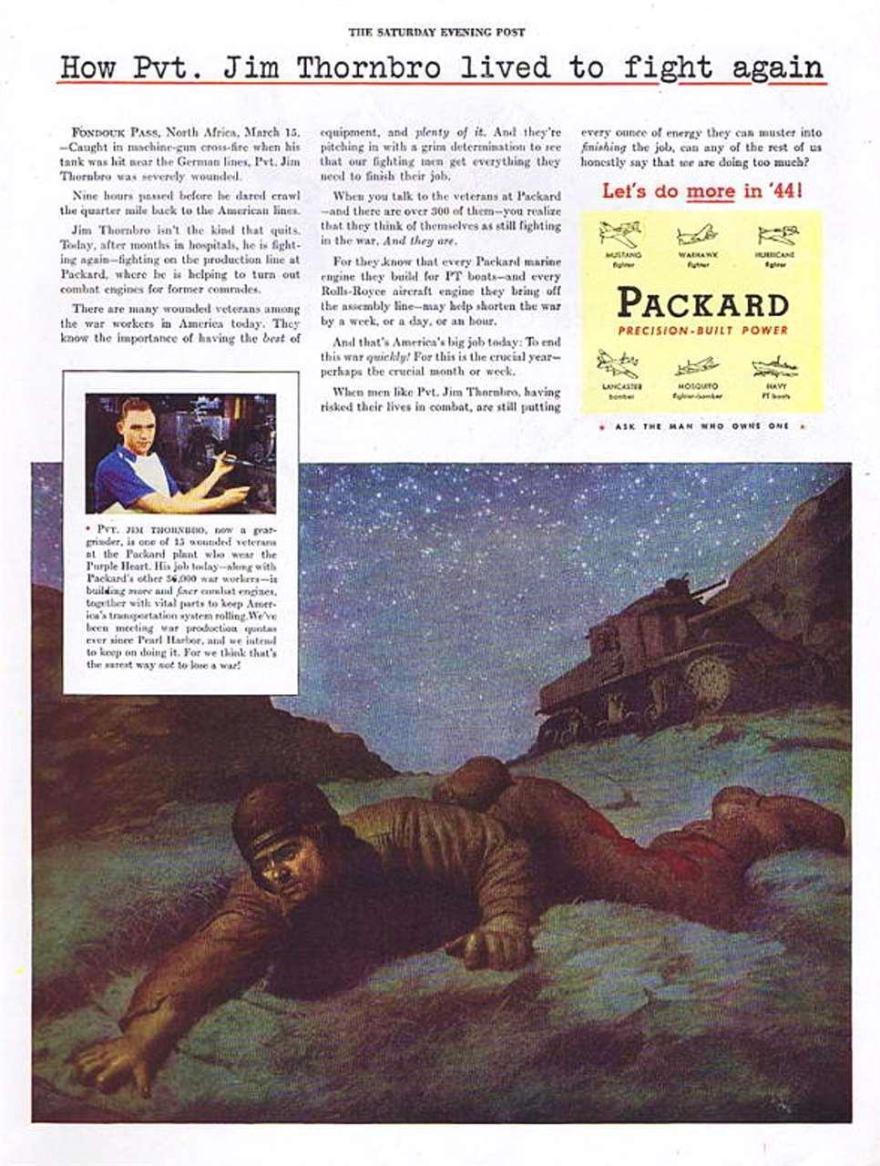 1944 PACKARD ADVERT