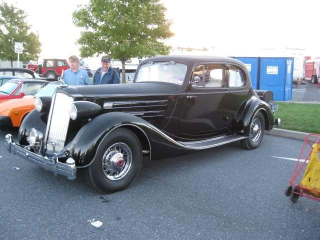 1936 Twelve Opera Coupe Driver Front