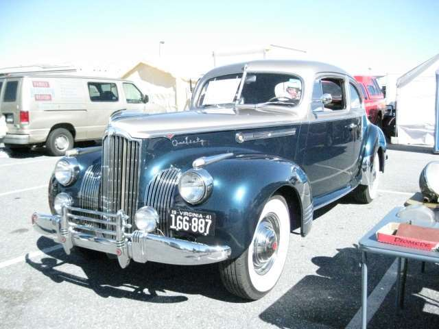 1941 160 Coupe Driver Front