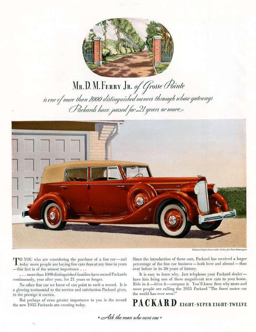 1935 PACKARD ADVERT