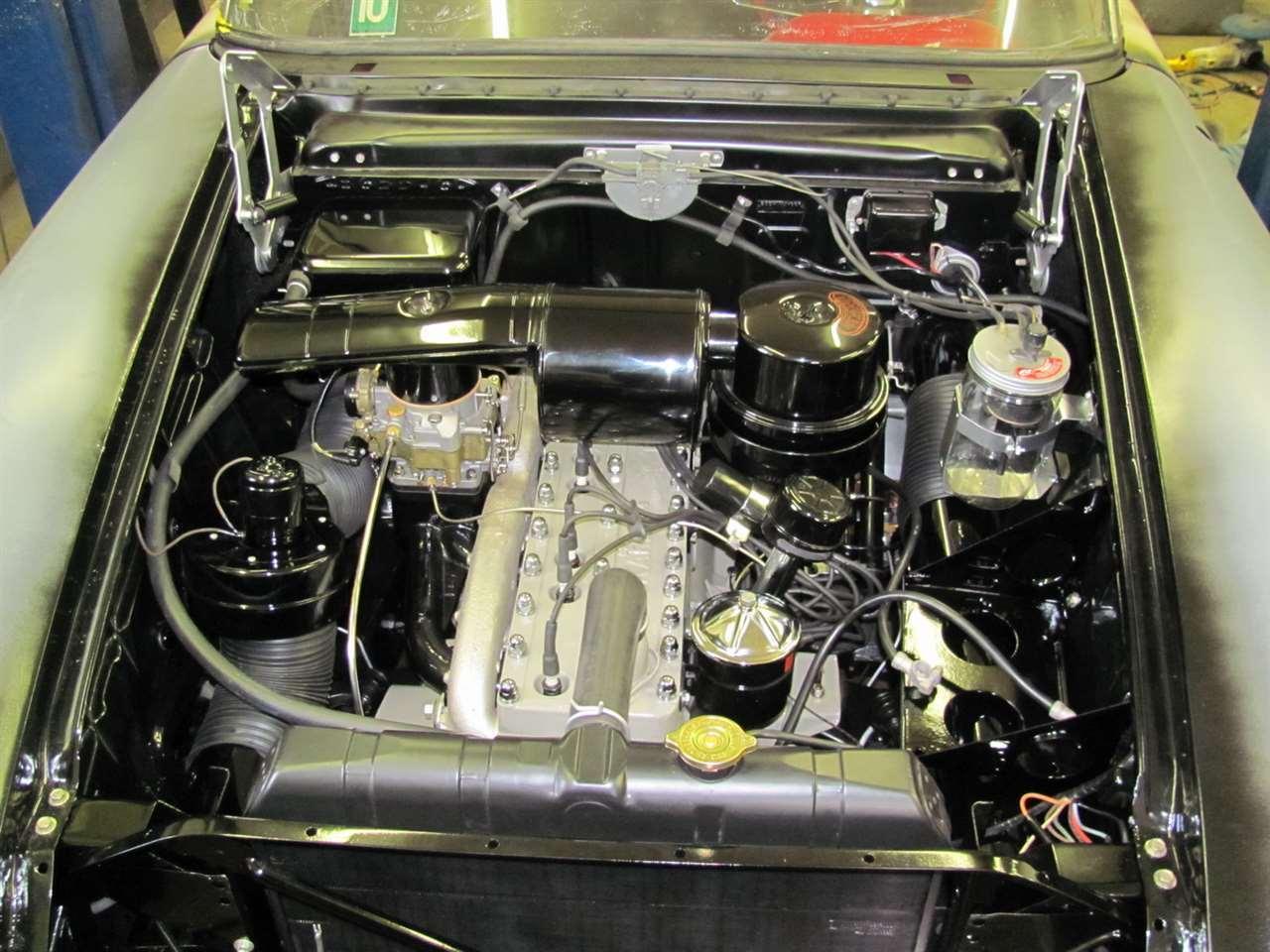 Balboa engine compartment