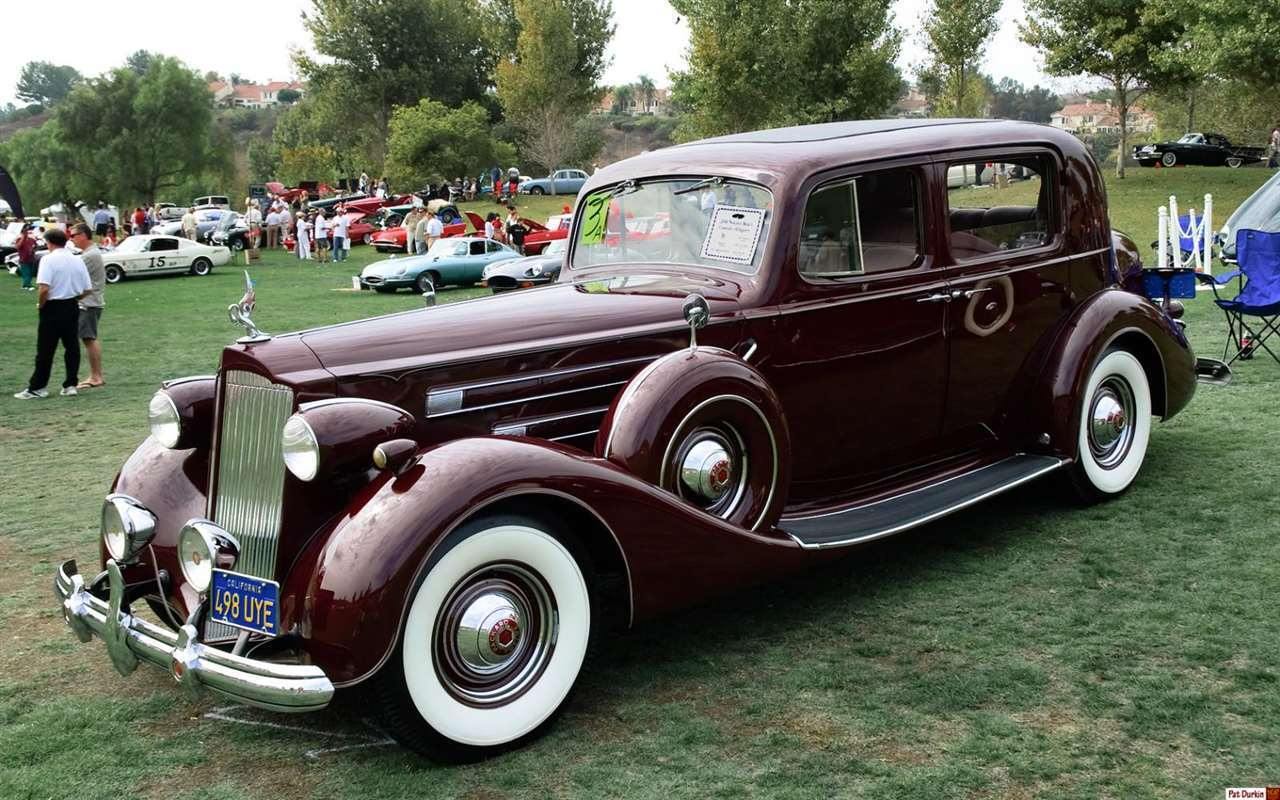 Packard Motor Car Information - 1937 Packard 1507 Club ...