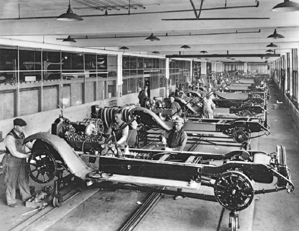 1921 PACKARD 3RD SERIES TWIN SIX CHASSIS ASSEMBLY