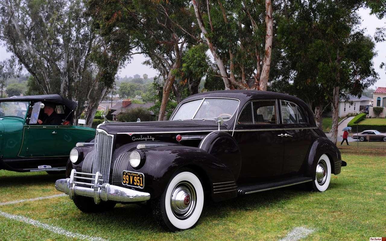 1941 Packard One Eighty sedan - brown metallic