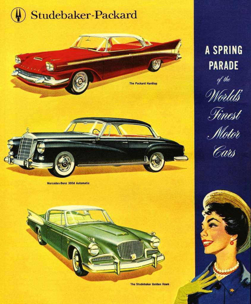 1958 STUDEBAKER-PACKARD ADVERT
