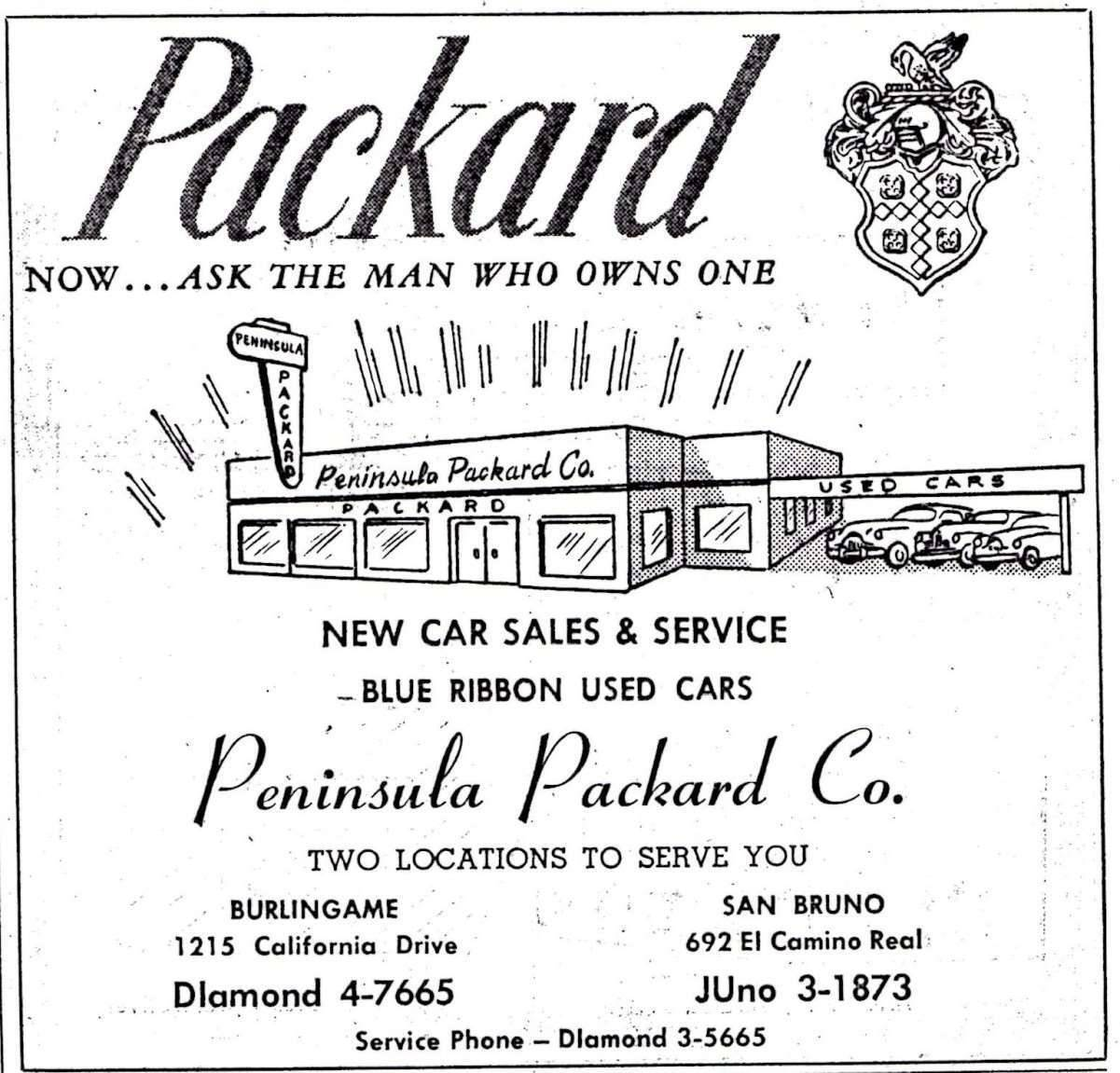 Peninsula Packard Co.