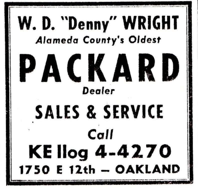 """W. D. \""""Denny\"""" Wright"""