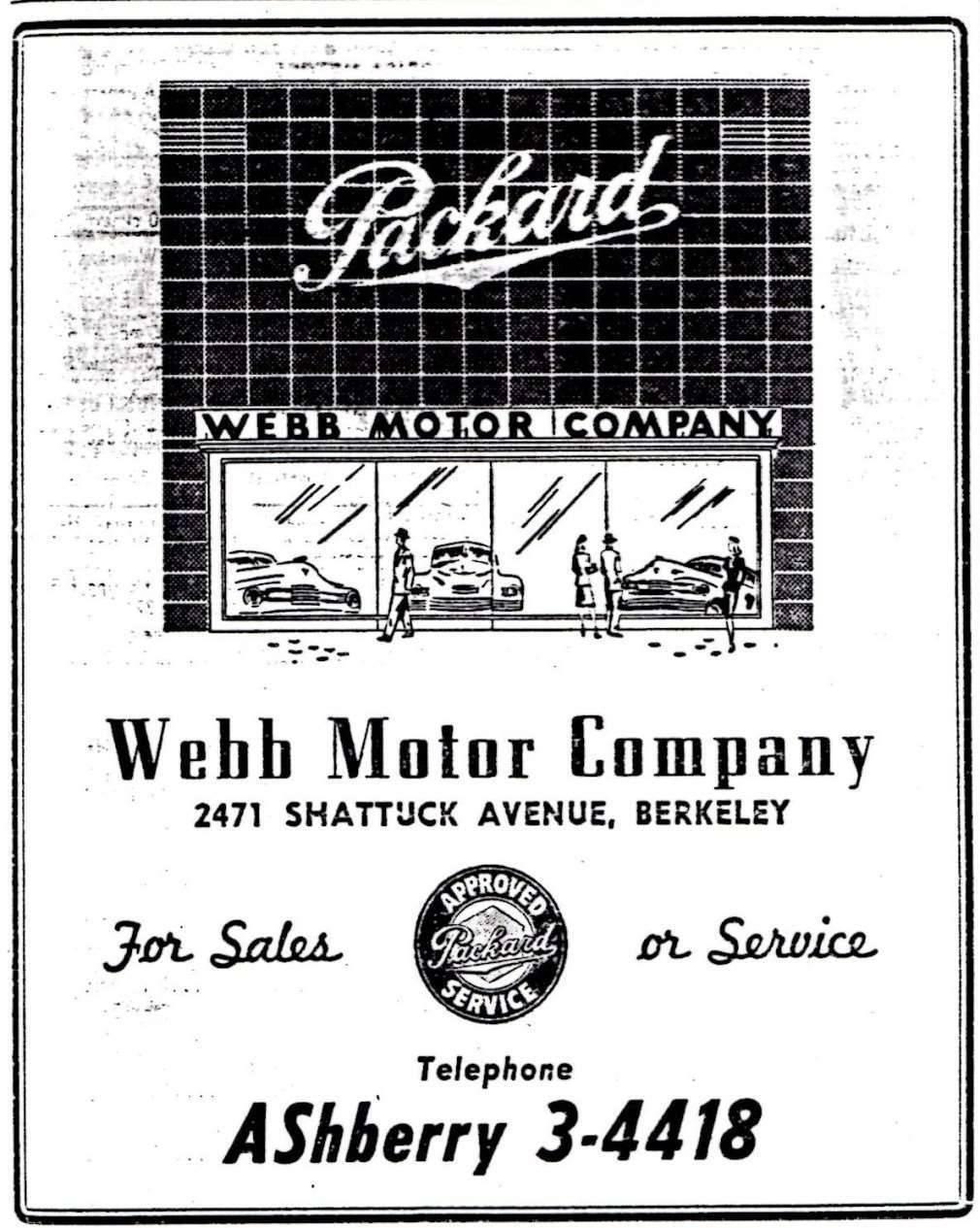 Webb Motor Company