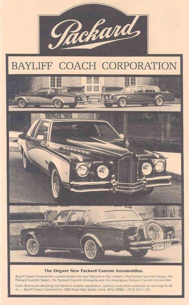 1980 PACKARD-BAYLIFF ADVERT-B&W