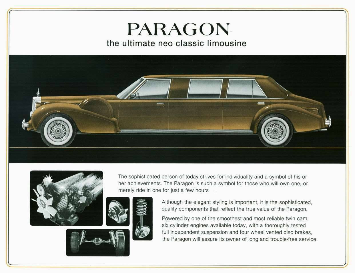 1984 PACKARD-PARAGON ADVERT