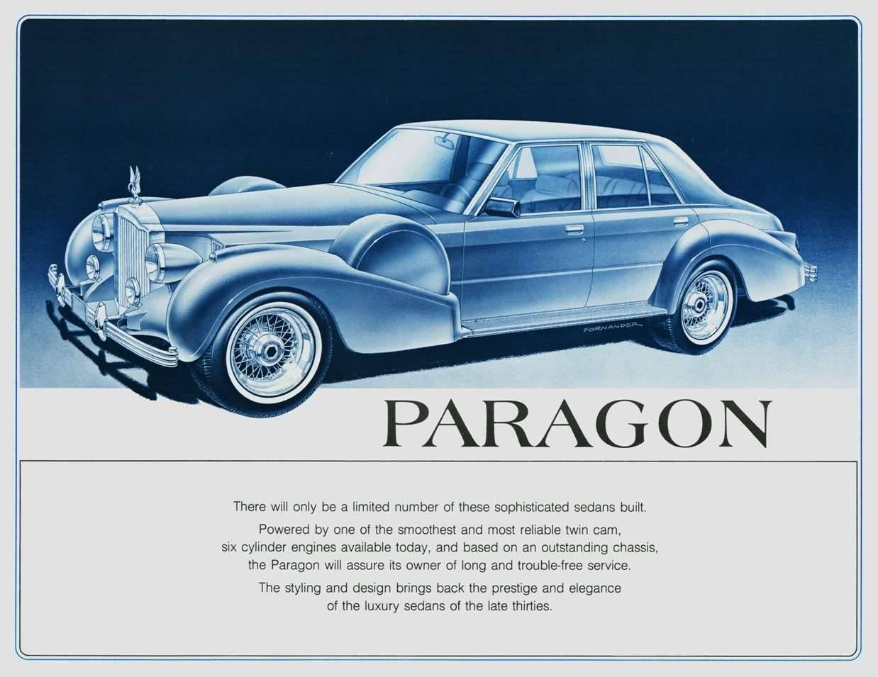 1985 PACKARD-PARAGON ADVERT