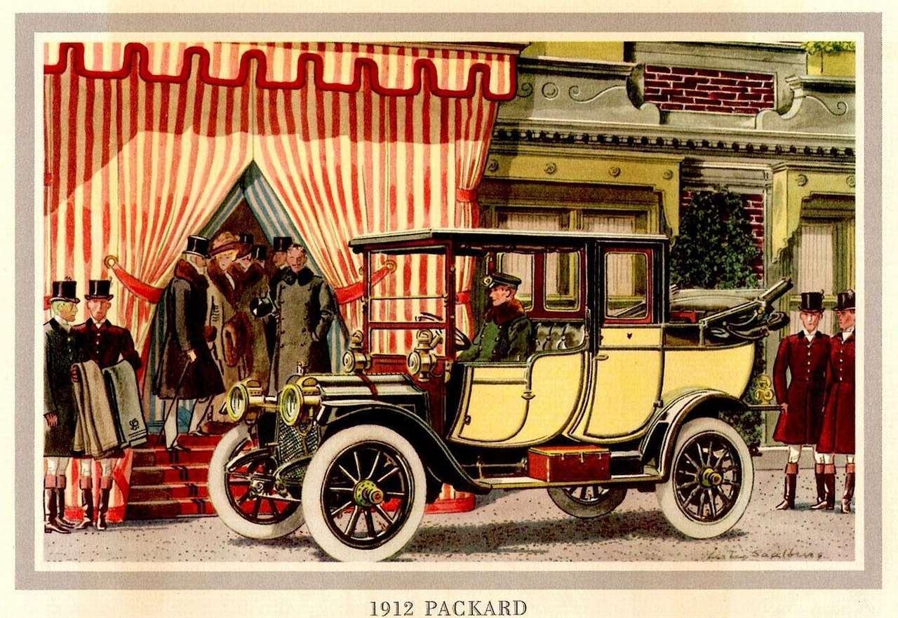 1912 PACKARD LANDAULET