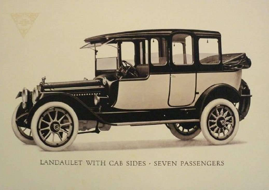 1915 PACKARD 3-38 SIX 7-PASS LANDAULET