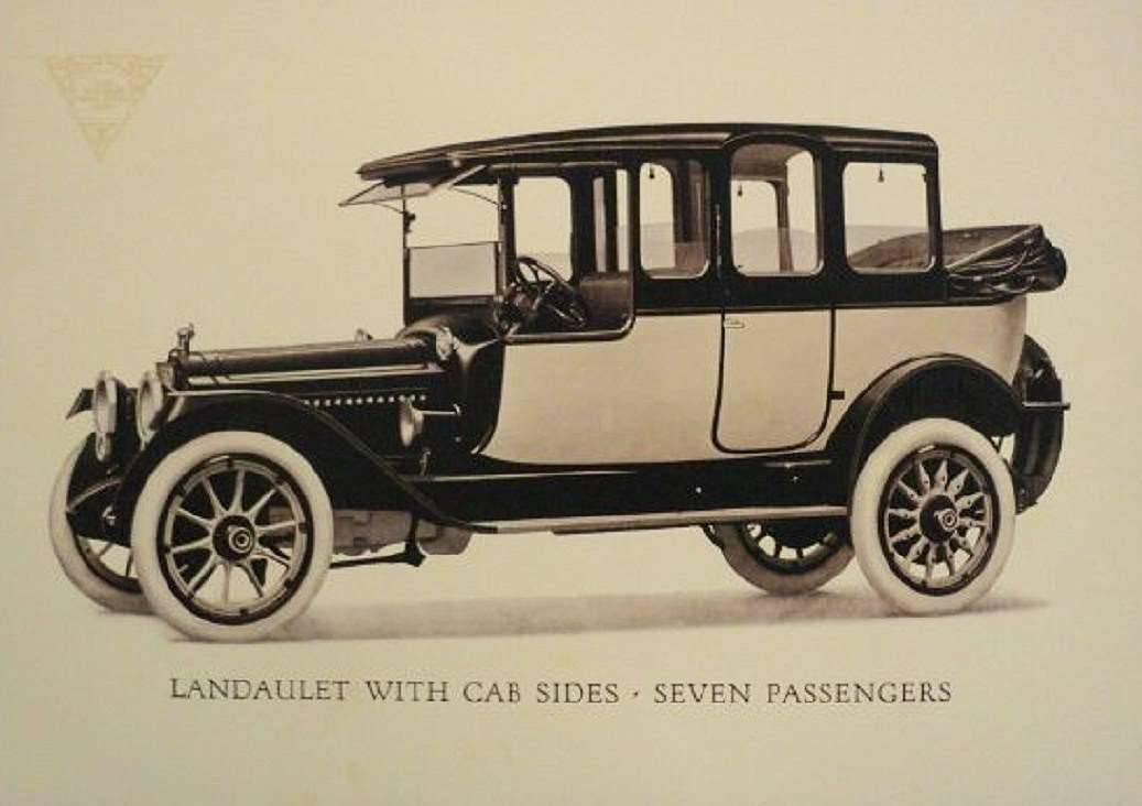 1915 PACKARD 3-38 SIX 7-PASS LANDAULET