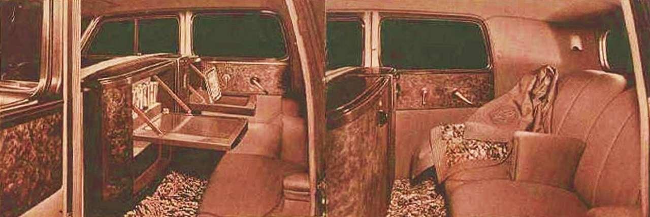 1933 PACKARD V12 FORMAL SEDAN 'CAR OF THE DOME'