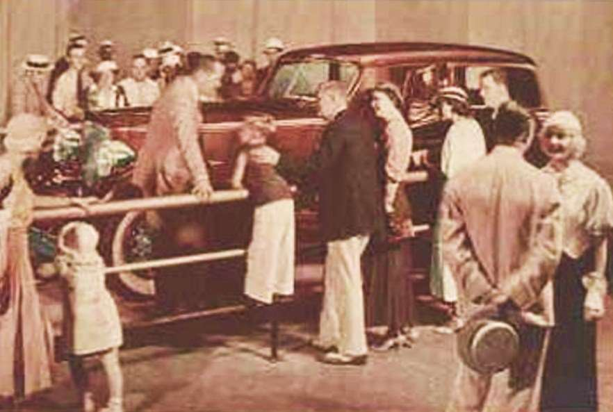 1933 PACKARD V12 FORMAL SEDAN 'CAR OF THE DOME' AT CHGO WORLD'S FAIR