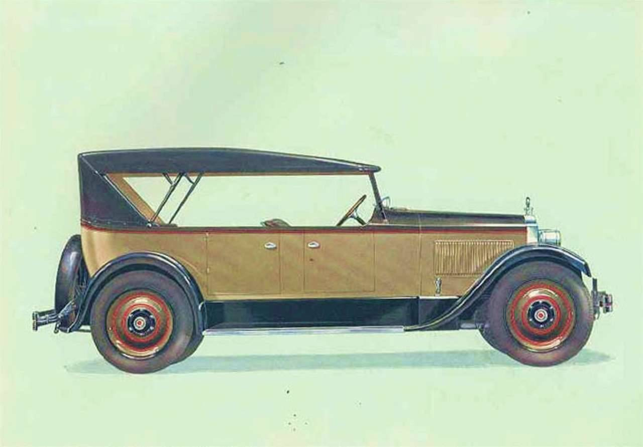 1927 PACKARD SIX 7-PASS TOURING