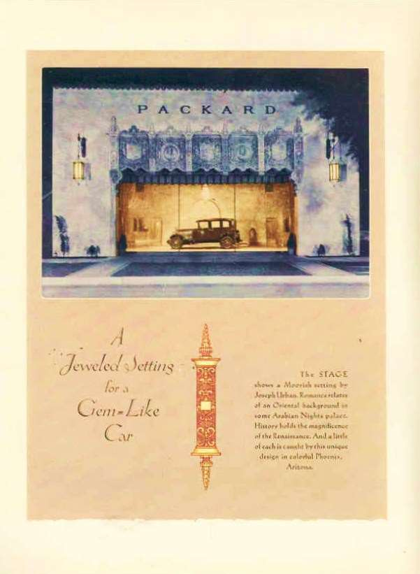 1928 PACKARD ADVERT