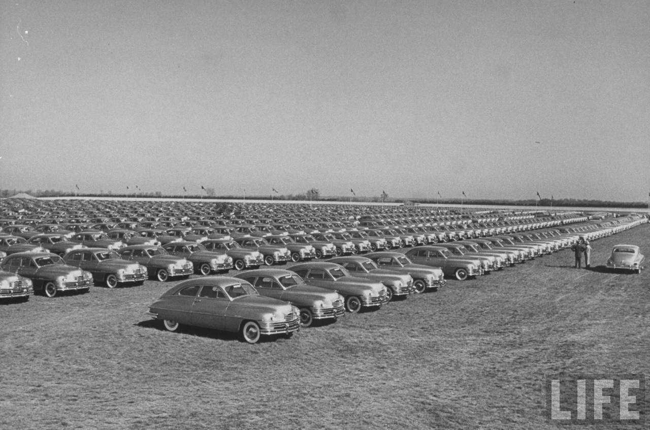 1949 PACKARD GOLDEN ANNIVERSARY PHOTO-B&W