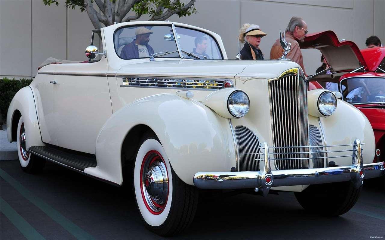 1940 Packard 1399 One Twenty Convertible - front