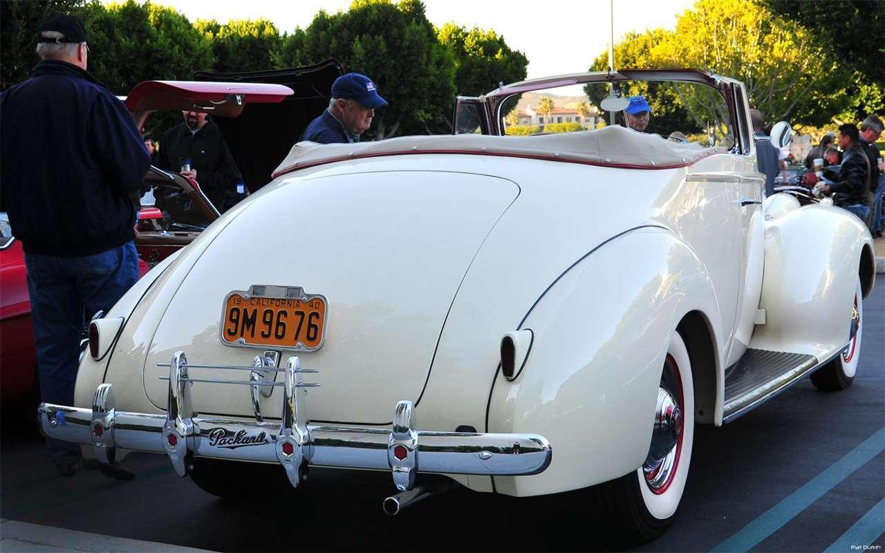 1940 Packard 1399 One Twenty Convertible