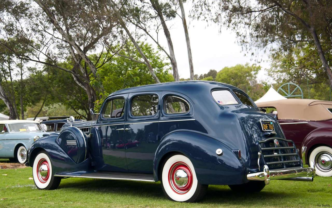 1940 Packard 120 Four Door Sedan - Navy Blue - rvl