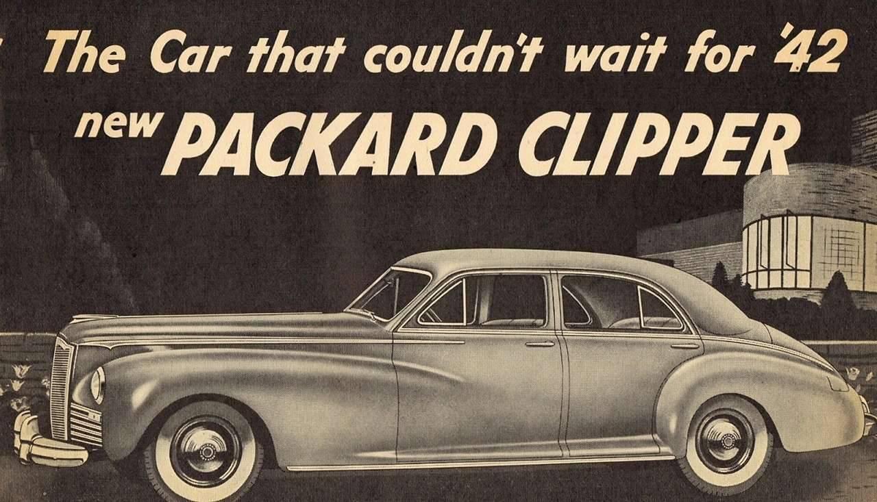 1941 PACKARD CLIPPER ADVERT SAMPLE-TOP