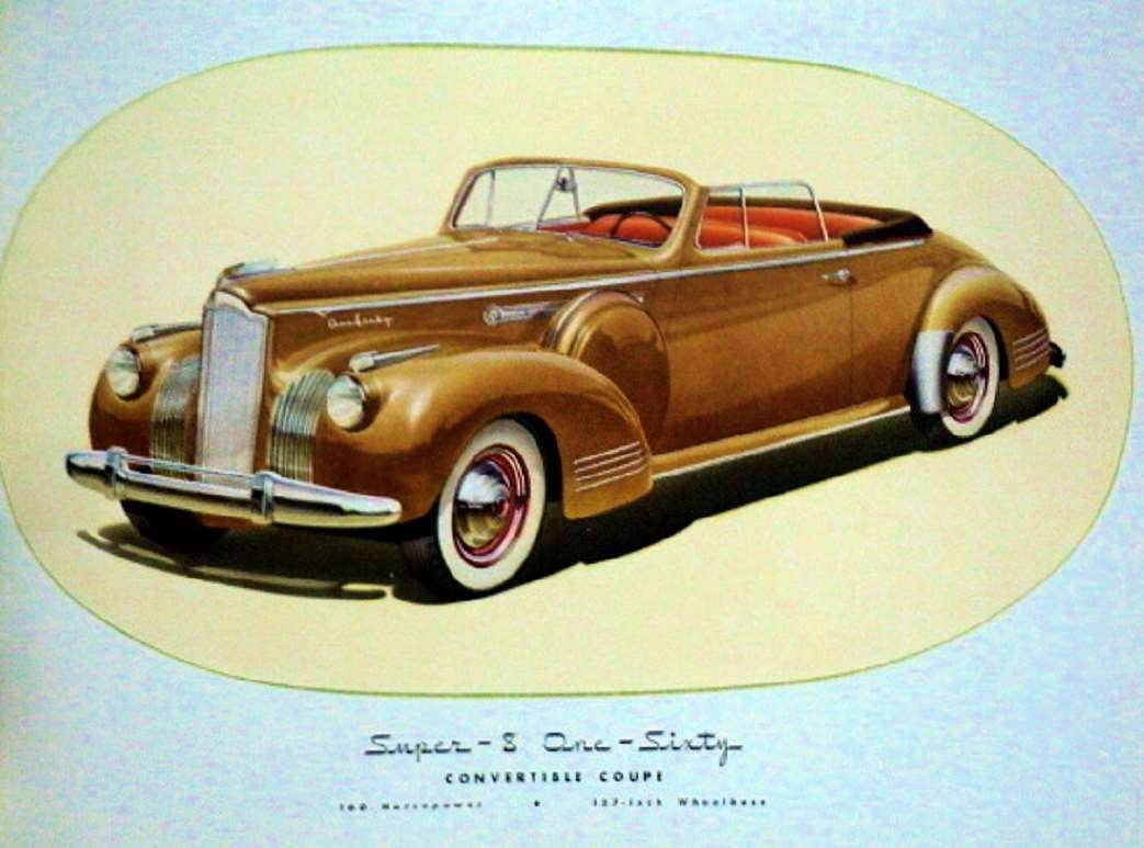 1941 PACKARD SUPER EIGHT 160 CONV COUPE