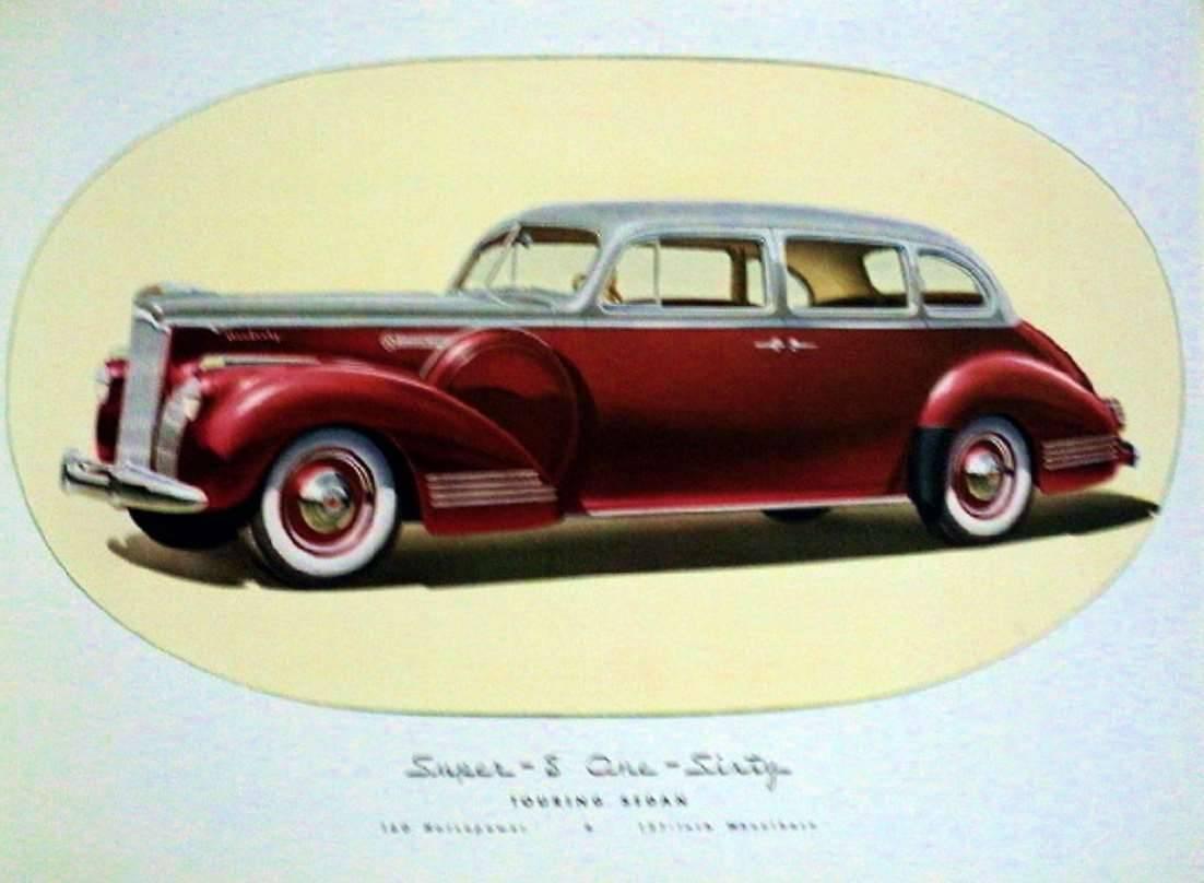 1941 PACKARD SUPER EIGHT 160 TOURING SEDAN