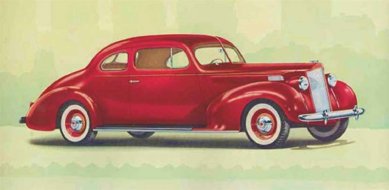 1938 PACKARD SIX CLUB COUPE